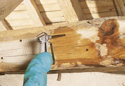 photo du Traitement des bois rah 3d